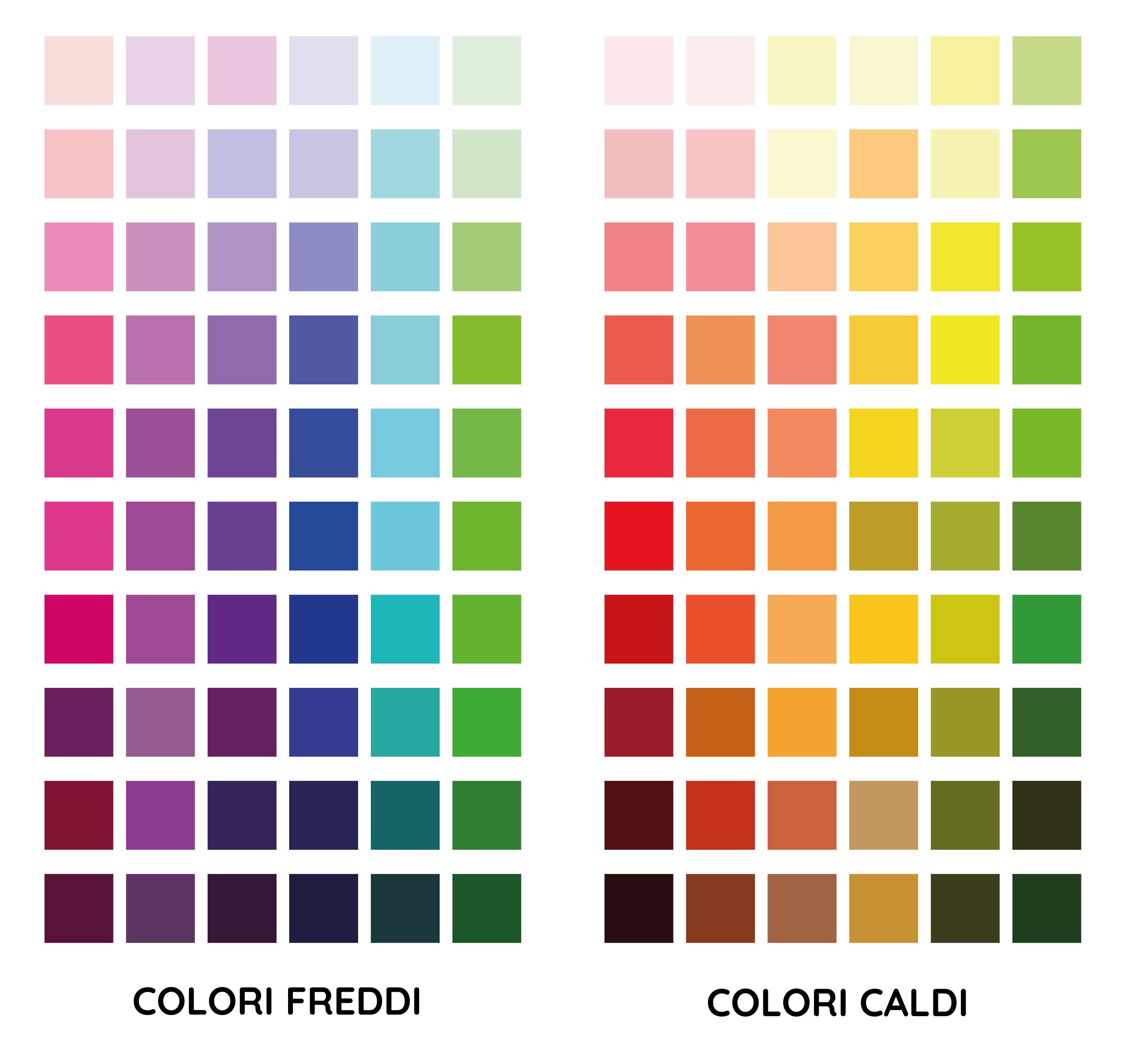 Colori Da Abbinare Al Rosa analisi dei colori - le springnets
